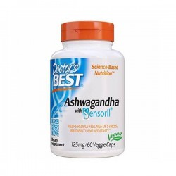 Doctors Best Ashwagandha s Sensoril 125 mg 60 kapsule